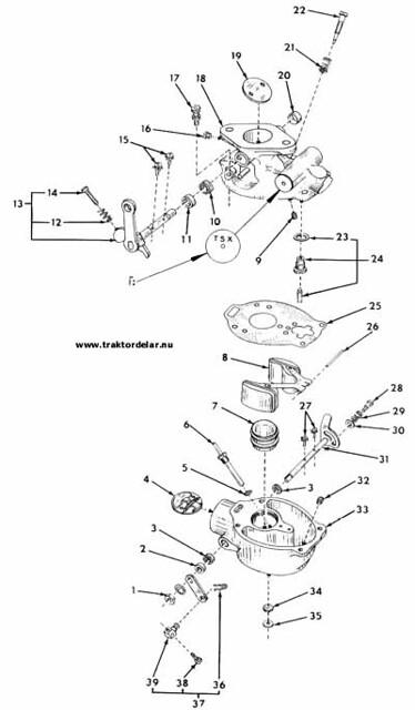 Diagram Marvel Carburetor Diagram