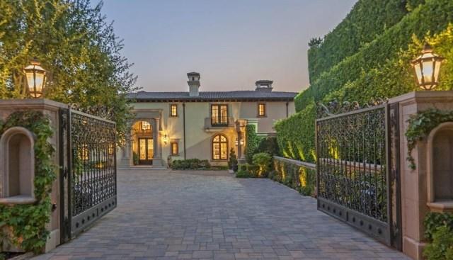 "Alkiviades ""Alki"" David Beverly Hills Home"