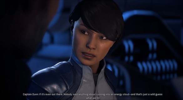 Mass Effect Andromeda - Captain Dunn