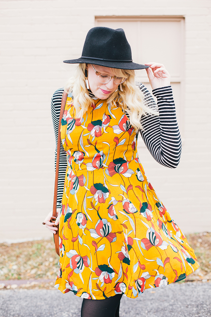 austin style blog tissue turtleneck layered modcloth dress11