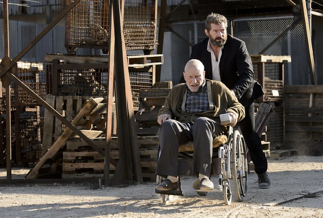 Logan 2017 Charles Xavier Wolverine