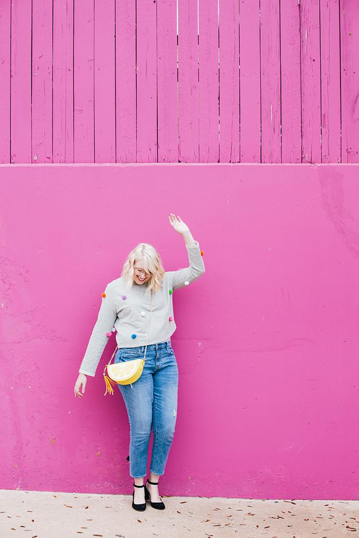 austin fashion blogger pom pom sweater19
