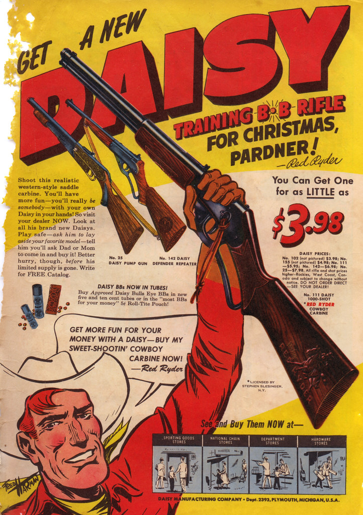 1950s Comic Book Ad Daisy BB Gun Daisy Training BB