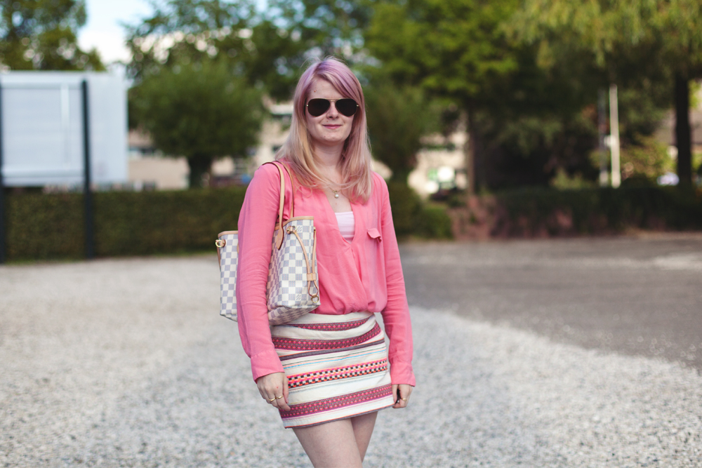 Outfit   Pink & Stripe   foreverpetite.net