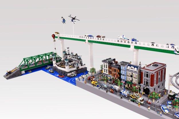 2017 Lego City Diorama 01