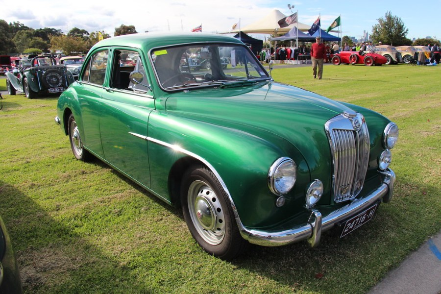 1961 austin cars » 1955 MG ZA Magnette Saloon   The MG was introduced in 1923        Flickr     1955 MG ZA Magnette Saloon   by Sicnag