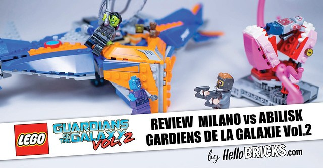 Lego 76081 - Marvel Super Heroes - Gardiens de la Galaxie Vol.2 - The Milano vs The Abilisk