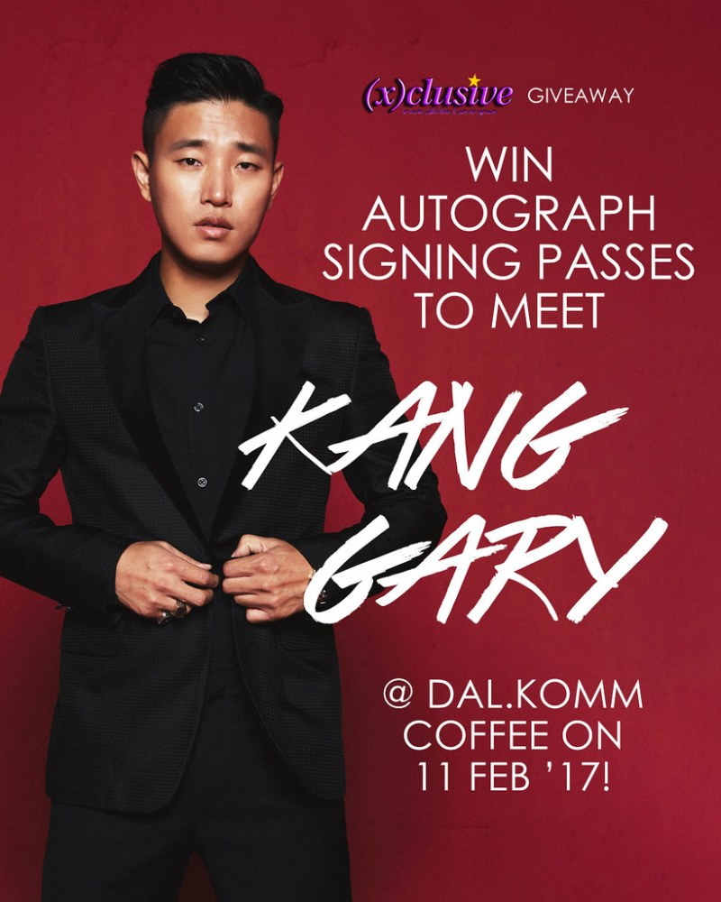 (x)clusive x Kang Gary Giveaway
