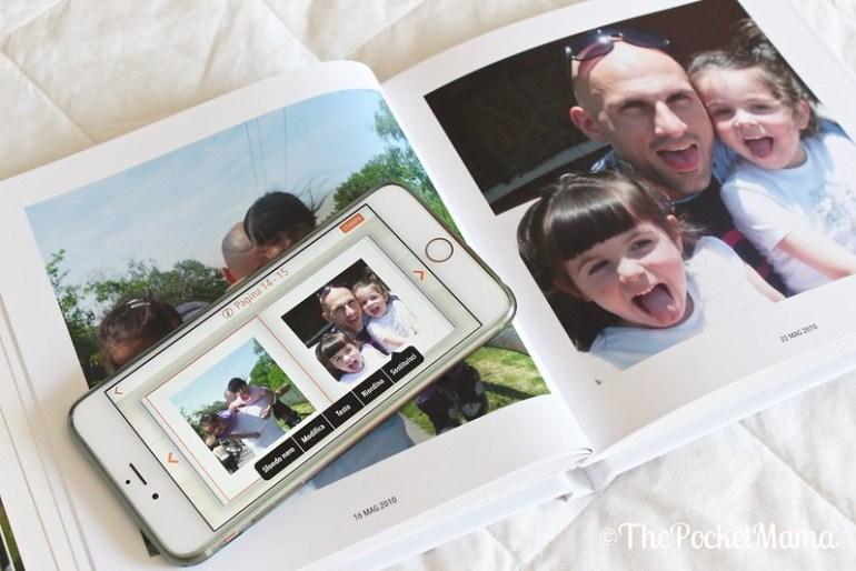 creare un fotolibro con app photosì