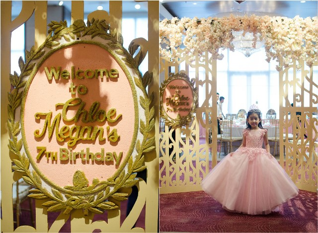 Chloe s royal garden themed party th birthday