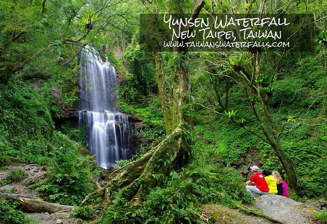 Yunsen Waterfall is one of northern Taiwan's nicest dayhikes and it rarely gets crowded.