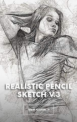 Special Sketch Photoshop Action - 103