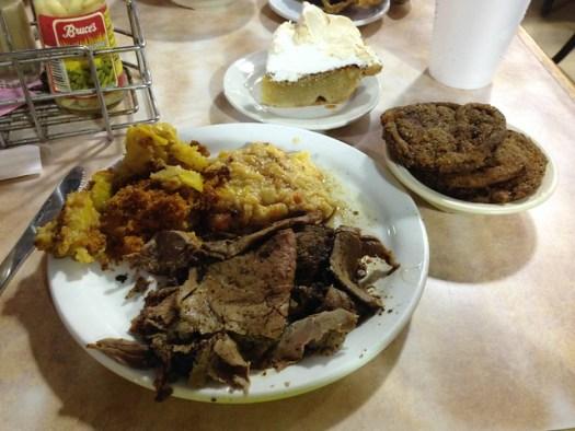Roast Beef, Arnold's Country Kitchen, Nashville TN