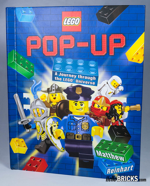 Livre LEGO Pop-Up Book by Matthew Reinhart