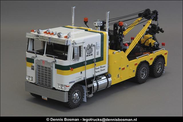 LEGO Model Team - Kenworth K100 wrecker
