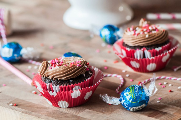 Chocolate Truffle Cupcakes 11