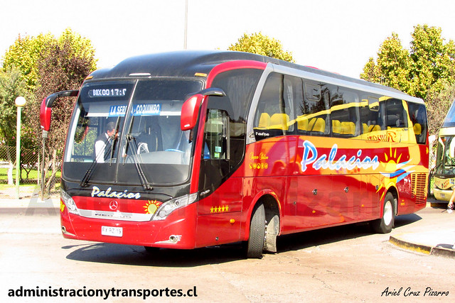 Buses Palacios | Coquimbo | Neobus New Road N10 - Mercedes Benz / FXRZ19
