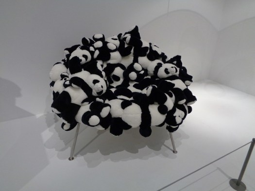Fernando Campana Banquete Chair with Pandas, Dallas Museum of Art