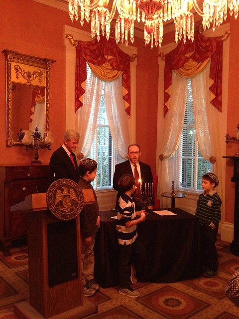 Chanukah at the Mississippi Governor's Mansion