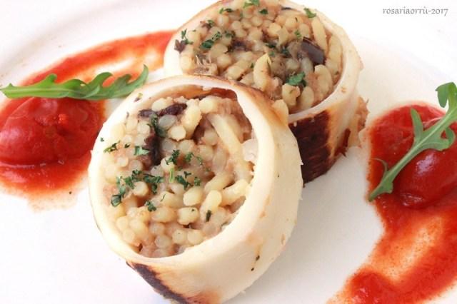 calamaro ripeno di pasta