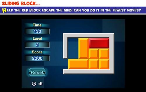 Spatial Reasoning Skills - Sliding Block