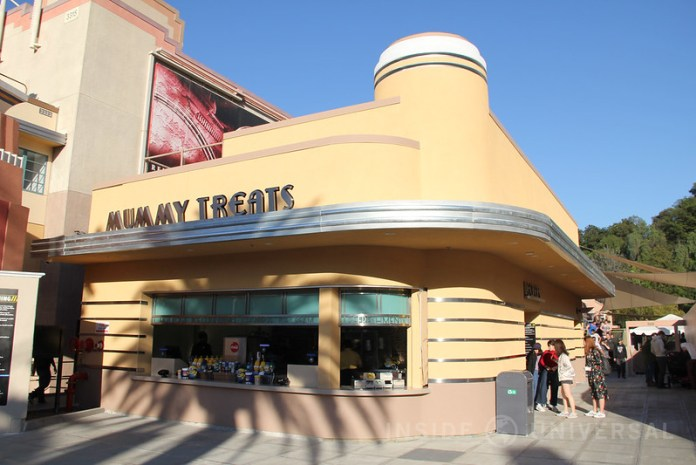 Mummy Treats and the Revenge of the Mummy locker rooms have reopened