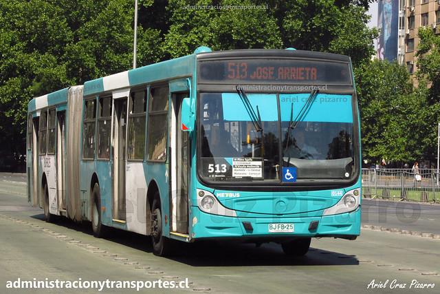 Transantiago 513 | Metbus | Caio Mondego HA - Mercedes Benz / BJFB25