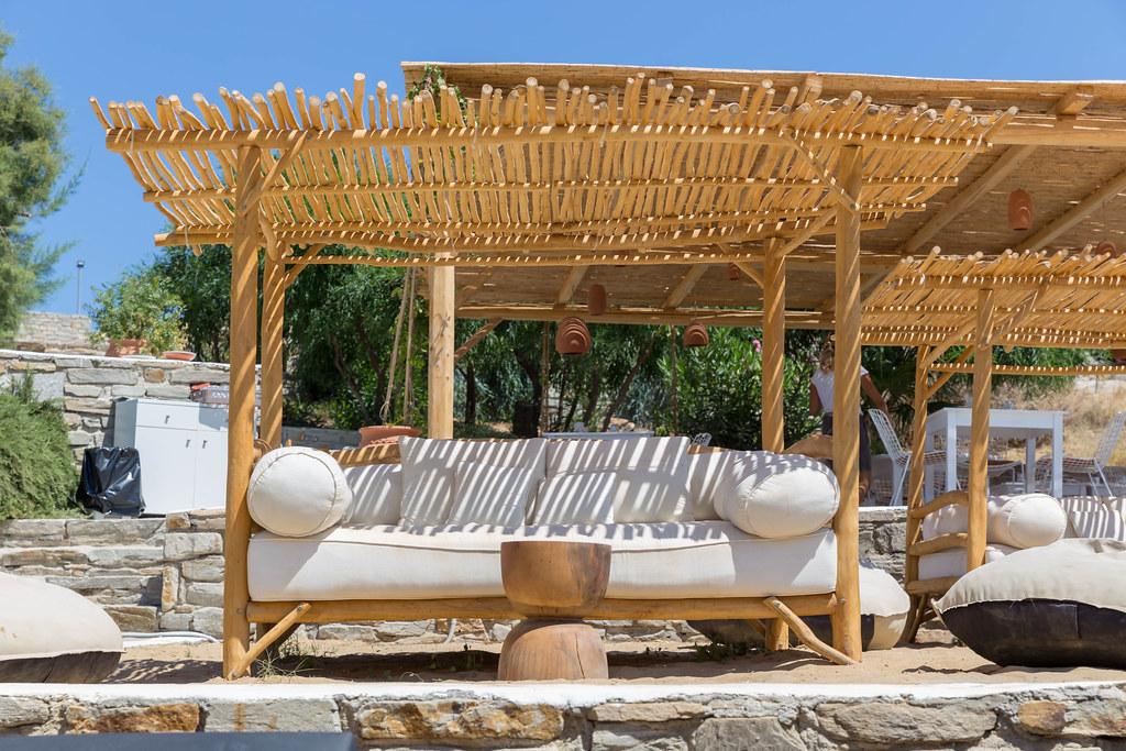 mediterranean outdoor furniture on a