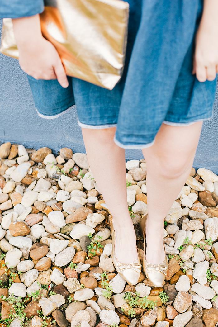 how to wear a denim dress12