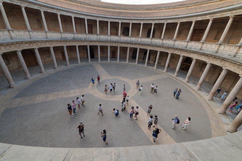 Palace of Charles V Alhambra Granada Spain