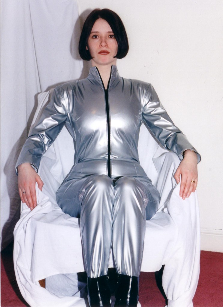 Silver Catsuit Retro 3 I Found These Images And