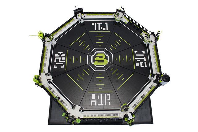 Blacktron Landing Pad 02