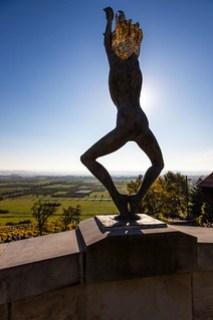 Kunst auf dem Weinkeller