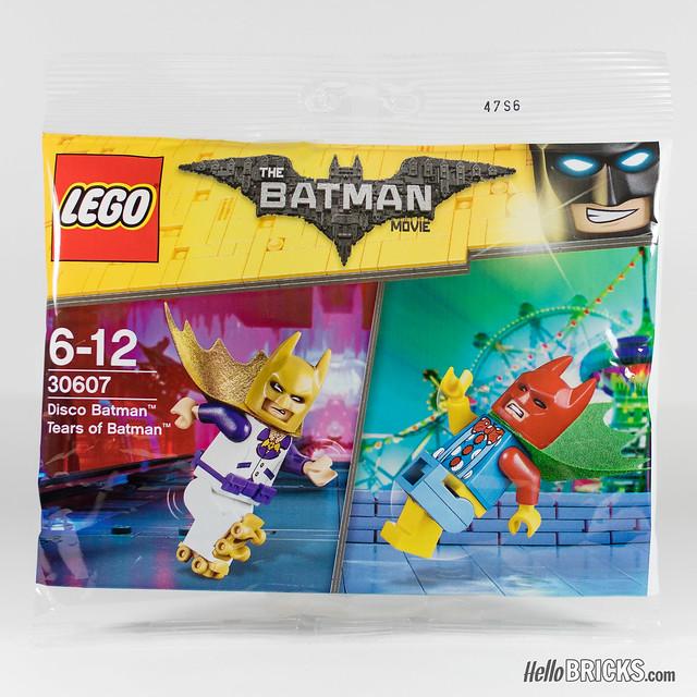 REVIEW LEGO 30607 Disco Batman Tears of Batman (polybag The LEGO Batman Movie)