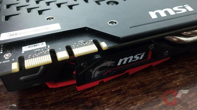 GTX 1080 MSI GamingX Salidas