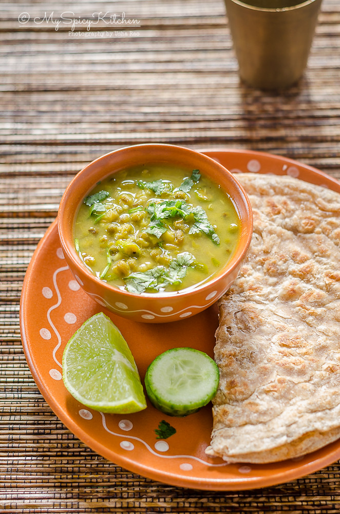 Moong Mag Gujarati Style Whole Moong Curry Myspicykitchen