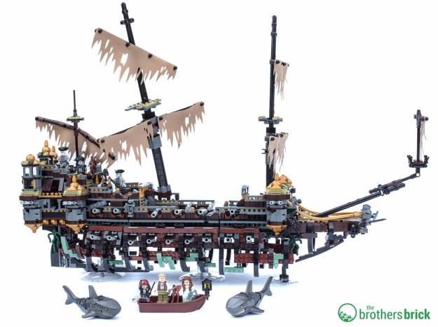 Lego Pirates Of The Caribbean Dead Men Tell No Tales 71042 Silent