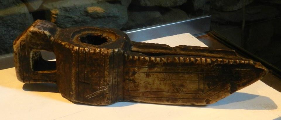 Candil lampara de aceite Museo del Aceite San Felices de los Gallegos Salamanca 12