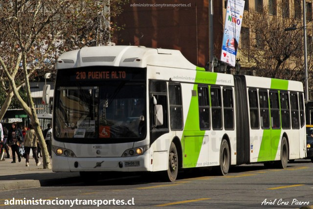 Transantiago 210   Subus   Caio Mondego LA - Volvo / ZN5613