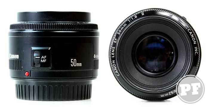 Equipamentos: Lente Canon 50mm f/1.8 por PratoFundo.com