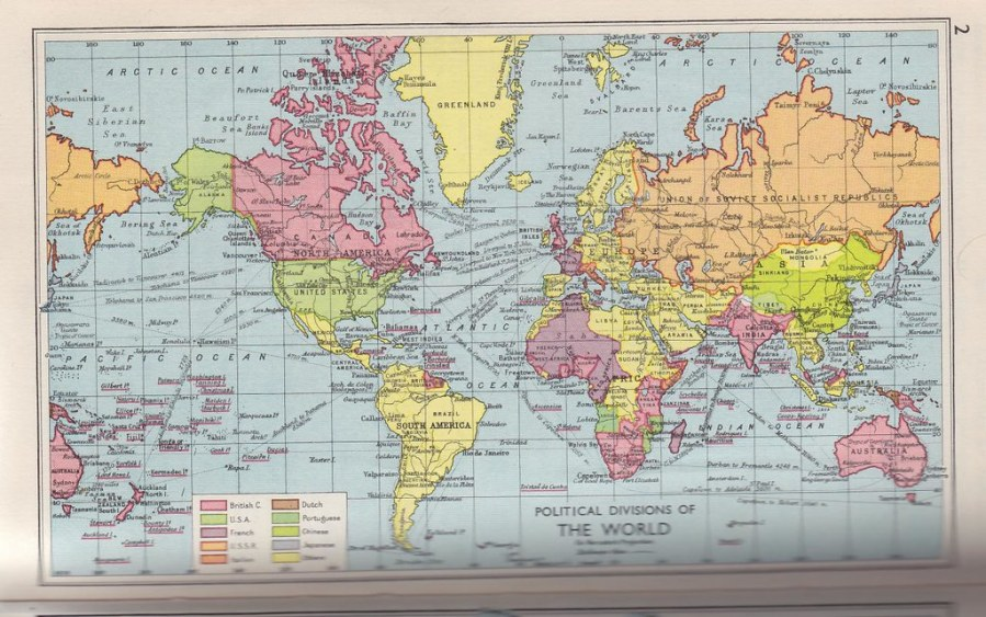 Pears Cyclopedia 1957   World Political Map   Steven Feldman   Flickr     Pears Cyclopedia 1957   World Political Map   by StevenFeldman