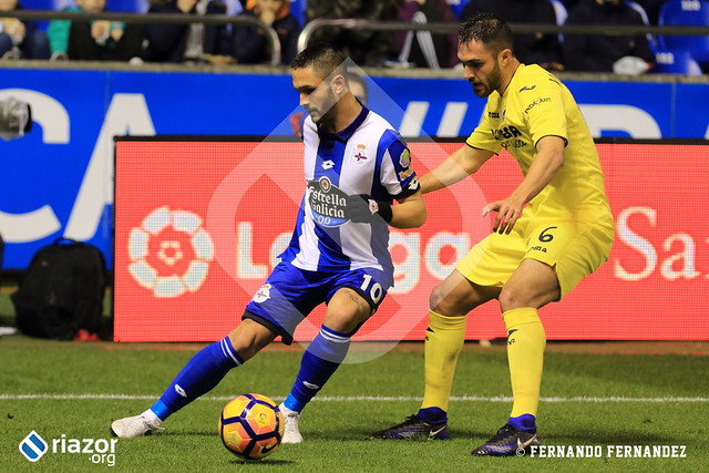 Liga Santander. RC Deportivo - Villarreal CF