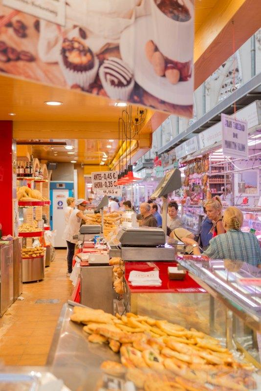 Valencia Spain market