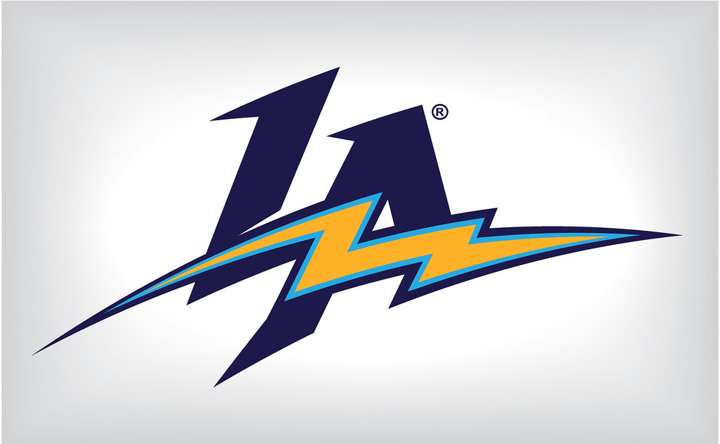 San Diego Chargers Lightning Bolt