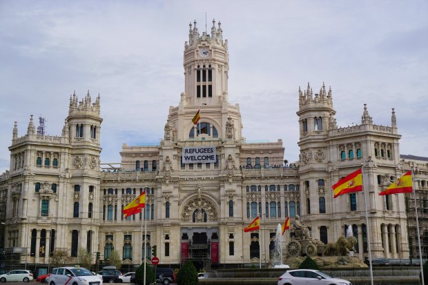 Fuente and Palacio de Cibeles