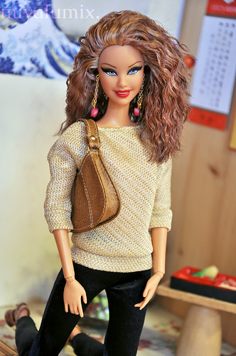 Skyler This Is My Revamped Barbie Basics Doll She Was A