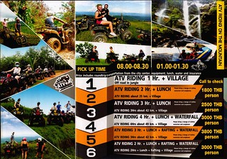 Brochure Add Excited ATV Chiang Mai Thailand 2