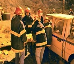 Capacitación al servicio medico, bomberos y Brigada de Rescate