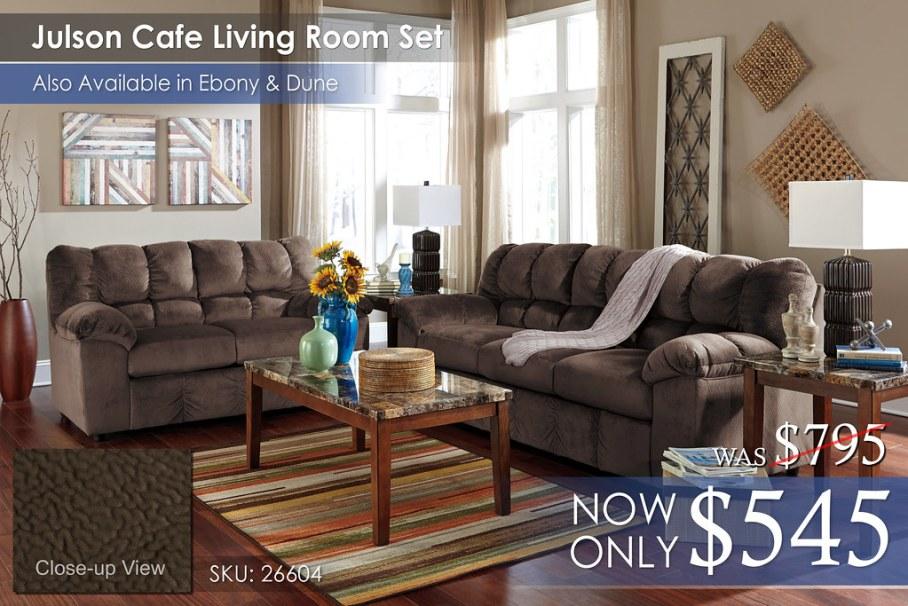 Julson Cafe Living Room Set 26604