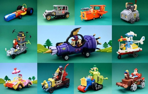 Martin Redfern Tells Us How Wacky Races And Lego Collided